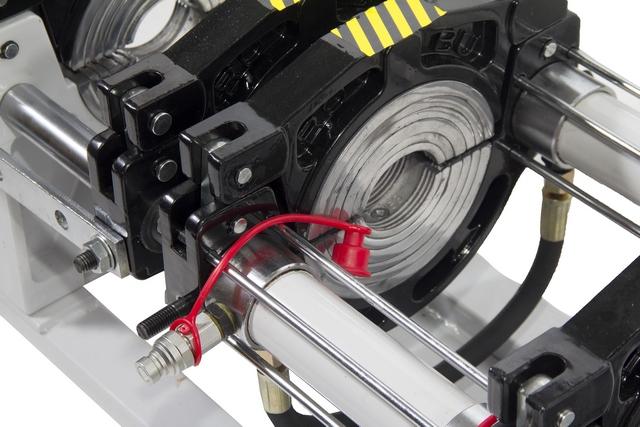 ROBU W 315 с гидравлическим приводом. Аппарат для стыковой сварки ПНД труб