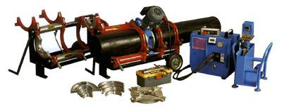 AL 250  сварочный аппарат для стыковой сварки трубопроводов из полиэтилена и полипропилена