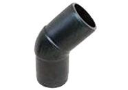 Отвод литой РЕ 100 45°