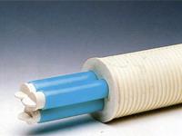 Использование труб ПВП для применения подземной энергии и информационного кабеля