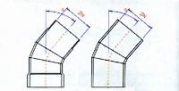 Колено трубы FKS схема