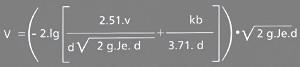Расчет рабочей гладкости kb