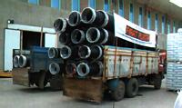 Методы погрузки и транспортировки труб FKS